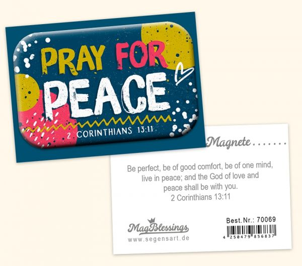 Mag Blessing - Pray for peace
