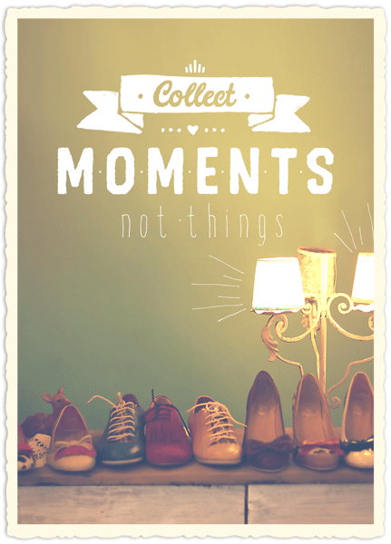 Big Blessing - Collect moments