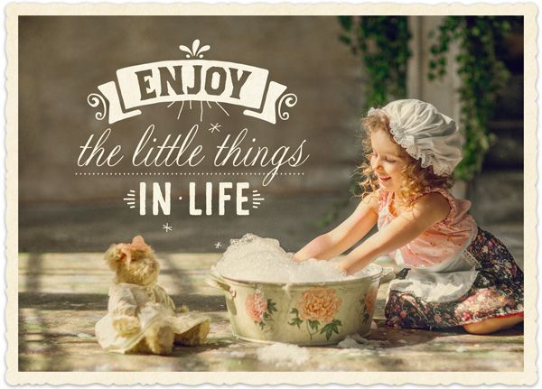 Big Blessing - Enjoy little things