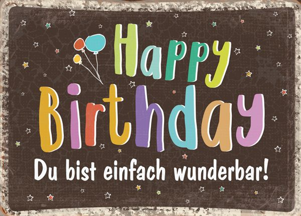 Big Blessing - Happy Birthday - wunderbar