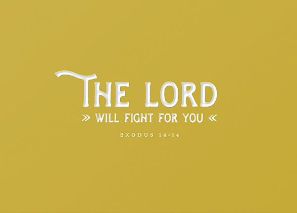 Craft Card - The Lord will fight